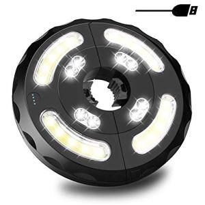 Lampe pour Parasol de Jardin, Guiseapue 28 LED Patio Umbrella Light 3 Mode de Switch, USB Rechargeable Lampe Parasol Pour Grand Parapluie Parasols, Tentes de Camping, Terrasse