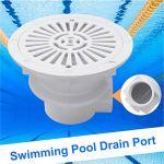 Lamta1k – Port de vidange pour piscine – Accessoire de remplacement – Blanc