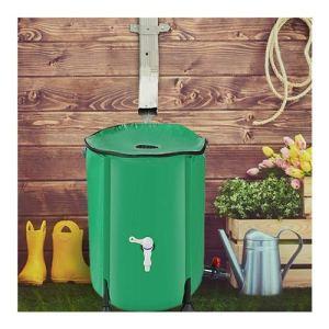 l'eau Espace De Rangement Récipient, Jardin Baril De Pluie, Portable Pliant Réservoir, Économiser De l'espace avec Filtre Couvercle À Glissière Utilisé dans La Cour