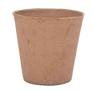 Leeofty Pots de Tourbe Kit de Plateau de démarrage de graines pour semis Jardinage Pots de départ de Plantes de Germination écologiques biodégradables pour légumes et Fleurs