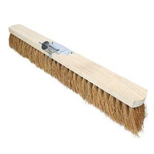 Linxor France ® Balai en coco naturel et bois – 60 cm – Marron – Norme CE