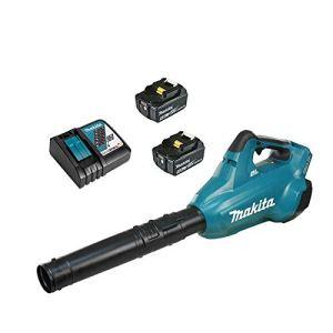 Makita DUB362RF2 Souffleur 36V => 2 x 2 Batteries 18V 3Ah Li-ION + Chargeur DC18RD