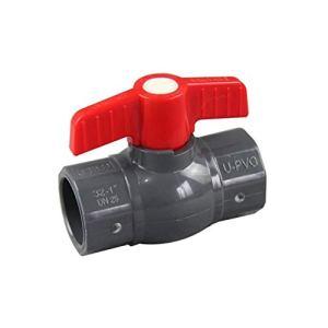 MDD 20mm / 25mm / 32mm / 40mm / 50mm ID PVC Soupape À Balles PVC Coupleur Connecteur d'eau, for Système D'irrigation De Jardin Aquarium Tank DIY (Size : Inner Dia.160mm)