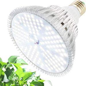 MILYN Lampe de Croissance 100W 150 LEDs Blanc Spectre éLèvent Des Lumières E27 Lampe Led Pour Plantes D'Intérieur, Hydroponique, Serre, Succulentes, Semis, Croissance, Floraison, Fructification
