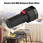 Moteur de barbecue DC 1,5 V à piles – Moteur de barbecue à batterie – Accessoire de cuisson – Silencieux