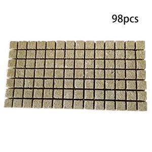 ningdeCK Cubes de culture en laine de roche 1,5/5,1 cm, Pas de zéro, Voir image, 1.5inch 98pcs