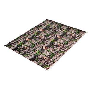 OverTop Film hydrographique pour ordinateur portable Motif feuilles vertes 50 x 100 cm