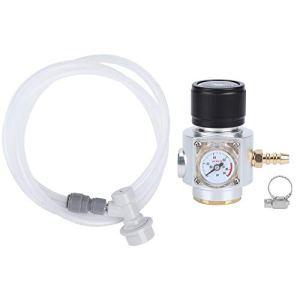 Régulateur de CO2 · Mini régulateur de gaz CO2 0-90PSI manomètre avec kit d'assemblage de conduite de gaz 5/16 pouces