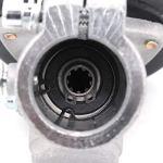 Renvoi d'angle Debroussailleuse 26mm /28mm, Tête d'engrenage Debroussailleuse Universelle Boîte de Vitesse de Tondeuse à Gazon pour Coupe Herbe/Tronconneuse (26mm, Rond de 9 Dents)