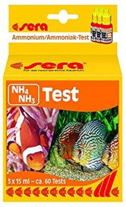 SERA Nh4/Nh3 Test de Qualité d'eau pour Aquariophilie 45 ML