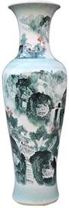 Table basse Vase Vase Vases en céramique classique étage permanent grande for Fleurs à sec Décoration Art Accueil Ménage Salon Hôtel Bureau Chambre à coucher Décorations ( Color : S (34 X 100 Cm) )