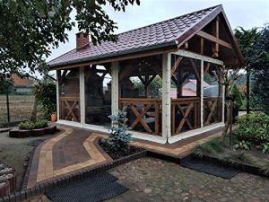 Terrasses Revêtement teinté, bâche, bâche PVC, jardin, offre spéciale 650g/m², 1m²