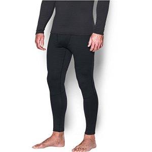Under Armour Legging pour Homme Base 4.0 S/M Noir/Acier