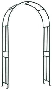 Verdemax 3447 Arc pour Jardin Prestige Acier Anthracite 120 x 40 x 219 cm