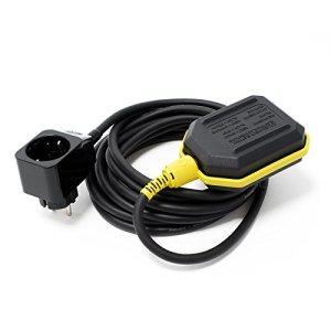 WilTec Unique Koi Aqua Stop Protection Contre vidange de Pompe pour des bassins avec Cable à 5m