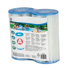 WRQ Filtre De Piscine Gonflable,Cartouche Filtre Cartouche Filtrante,Type De Filtre en Polyéthylène A,Adapté Au Filtre Piscine (100 Pièces)