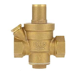 WULE-RYP DN15 1 / 2in Soupulateur de Pression d'eau en Laiton Soupape à la Pression réglable de la Pression de la soupape d'air de réglage de l'air de sécurité