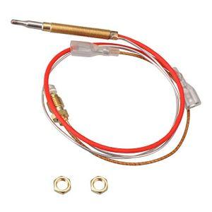 Yibuy Thermocouple M8 x 1 Écrous de raccordement avec terminal plat de 6,3 mm