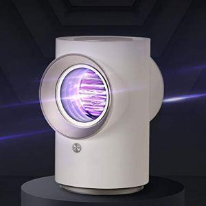 YJ-foryou Physique et Power Grid Tueur de Moustique Lampe USB électrique No Noise No Radiation Insecticide Flies Lampe Piège Anti Mosquito Lamp (Color : White)