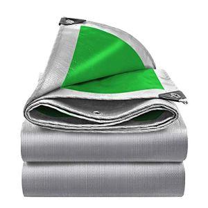 ZHANGGUOHUA-zhuanyi PE Bâche Imperméable Tissu Pare-Soleil Voile Bateau Voiture Camion Auvents Bâche Feuille De Sol Camping Pet House Tissu Imperméable 0.32mm(Size:6M*8M/19.6 * 26.2FT)