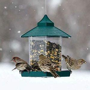 ZTT Jardin d'eau Colibri Feeder, Hanging Plastique Oiseaux Contenant à l'extérieur Mangeoire étanche Pet Abreuvoir Distributeur