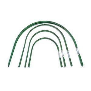 AHZZY Lot de 6 arceaux de serre en plastique portables de 1,2 m pour tunnel de culture avec revêtement en plastique