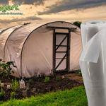 Aquagart Film de serre résistant aux déchirures UV 5 – Transparent – Protection pour semis et semis – Bâche en polyéthylène – Différentes largeurs – Épaisseur 190 – Mircron 0,19 mm (10 m x 8 m)
