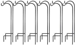 AshmanOnline Crochet bergers 37″Grand et 2/5 Pouces Fait de métal Haut de Gamme et de Mariage dcor