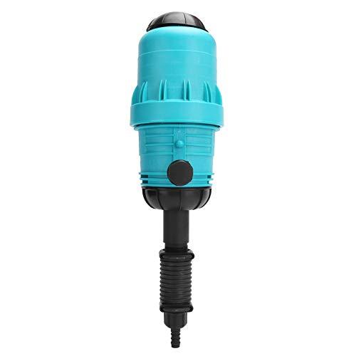 Asixxsix Injecteur d'engrais, opération Simple Durable équipé d'une vanne d'évent, Pompe de Dosage d'engrais, pour l'irrigation des eaux usées à la Maison
