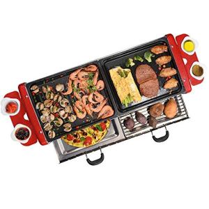Barbecue Accueil Smokeless Barbecue d'intérieur (Size : Package B)