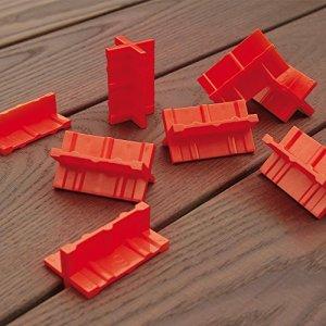 Espaceur de lames de Terrasse, Cales de 3/4 / 5/6 mm – lot de 8 pcs