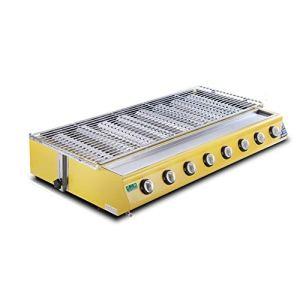 GPL sans fumée gaz poisson grillé barbecue à gaz Grill (Size : WX-228A Glass models)