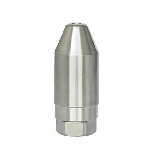 Guoz Rondelles de Pression Turbo Spray buse, buse Turbo en Acier Inoxydable 1/4″Connexion Rapide pour la Rotation de l'eau de refoulement, 8700PI,35