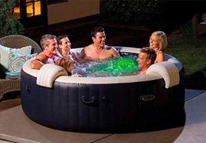 I Intex Bubble Massage Plus 28432EX Piscine hydromassage PVC 216 x 71 cm
