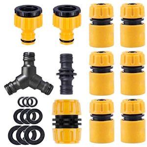 Jardin Raccord de tuyau flexible Robinet Connectors Kit raccords en plastique pour Rejoignez jardin Tube d'arrosage Outils de jardin
