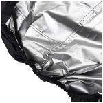 JTYX Housse de souffleuse à Neige, Housse de souffleuse à Neige résistante imperméable, Protection extérieure Toutes Saisons, Tissu Oxford 600D et revêtement PVC