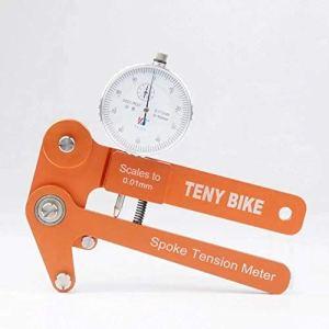 Manomètre en Alliage d'aluminium Tension Spoke Vélos Compteur indicateur tensiomètres Balances for la Correction de Roue 0.01mm Rim Outil de réglage de Pression testeur piézomètre