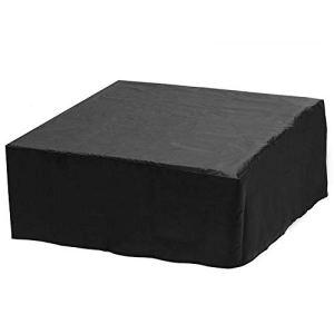 MAYUN 1 × Housse anti-poussière, pour baignoire spa, piscine, piscine avec trous de ventilation, imperméable, coupe-vent, anti-UV et anti-humidité (couleur comme sur la photo)