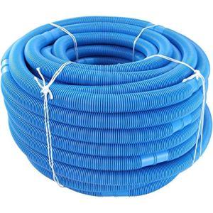 Morninganswer Tuyau d'arrosage pour piscine et piscine – Diamètre : 32 mm – Longueur totale : 6 m – Résistant aux UV et au chlore