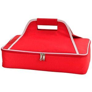 pique-nique à Ascot thermique Nourriture de transport 4x18x11 rouge/blanc