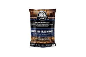 Pit Boss BBQ Hickory Mélange de granulés de bois dur sans additifs 9 kg