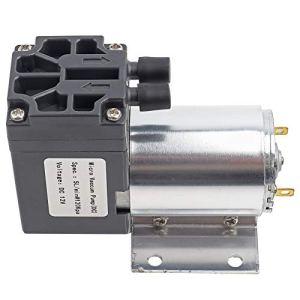 Pompe d'aspiration à faible bruit DC 12V à pression négative Micro-pompe Mini pompe d'aspiration à vide stable 5L / min 120KPa industriel haute efficacité pour l'échantillonnage d'analyse