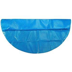 QUUY Bâche solaire pour piscine – Bâche solaire – Bâche solaire – Bâche chauffante ronde – Pour piscine Easy Set et cadre – Bleu – Ø 152 cm