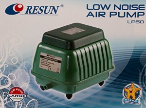 Tab Resun LP 60Aérateur par Ventilateur Pompe à membrane pour 4200l/h