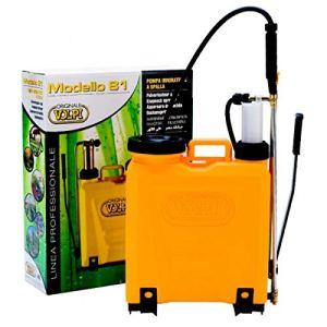 Uni Pompe à épaule 12 l pompante en plastique avec agitateur hydraulique