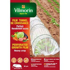 Vilmorin – Film tunnel de croissance perforé 5m x 2m