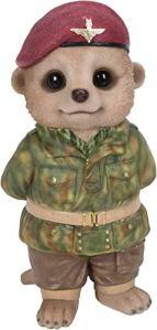 Vivid Arts Bébé suricate soldat – Taille D