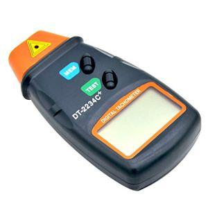Yardwe compte-tours tachymetre tachymètre numérique portatif sans contact – pas de batterie