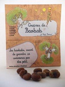5 sachets de 8 graines de baobab africain – Le Petit Prince