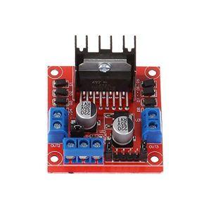50pcs L298N Stepper DC Motor Driver Shield Development Development Board pour Robot de voiture DIY